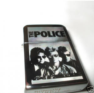 An original Zippo engraved with your Dad's favourite band.